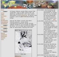 Layout der Webseite (April 2002 - 22.08.2005)