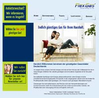 Layout der FlexGas GmbH